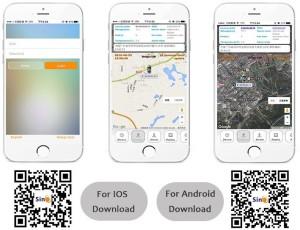 SinoTrack Car GPS Tracker Free Lifetime Tracking GPS DeviceBlack