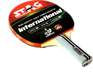 5b51982dbe Stag International Table Tennis Racquet Red Black Weight 190 g Best Price  in India   Stag International Table Tennis Racquet Red Black Weight 190 g  Compare ...