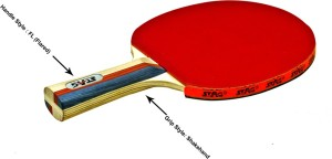 a4228fc905 Stag International Table Tennis Racquet Red Black Weight 190 g Best ...