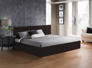 Auspicious Home Axis Engineered Wood King Bed With Storage