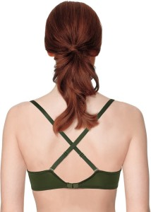 8346a858c8e Shyle Women s Full Coverage Green Bra Best Price in India