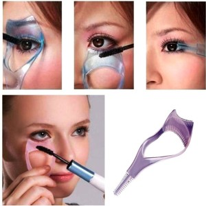 998482712a6 Kelley Eyelash Tool 3 in 1 Makeup Mascara Shield Guard Curler  ApplicatorPack of 1