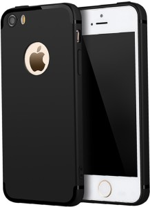 100% authentic 03d70 48eb0 Mocell Back Cover for Apple Iphone 5SEBlack, Grip Case, Rubber