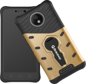 sale retailer 5e143 37360 Bracevor Back Cover for Motorola Moto C PlusGolden
