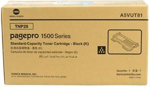 konica minolta TNP-28 Black Toner Cartridge Single Color Toner