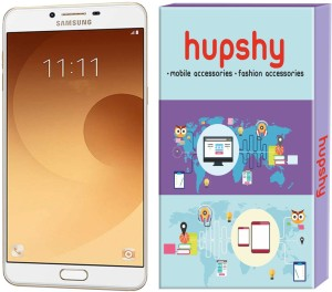 Hupshy Tempered Glass Guard for Samsung Galaxy C9 Pro