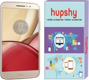 Hupshy Tempered Glass Guard for Moto M