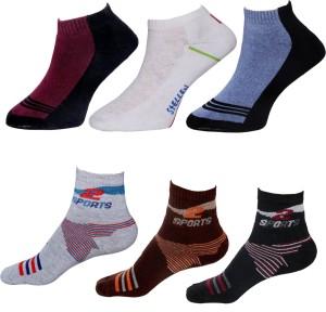 indistar Men Ankle Length Socks