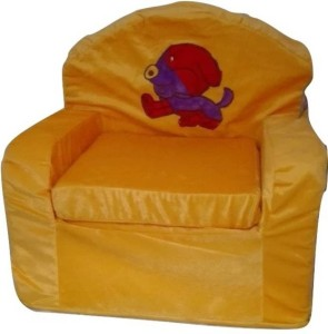 SS Mart Yellow Baby Sofa  - 45 cm