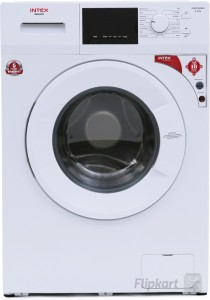 Intex 6 kg Fully Automatic Front Load Washing Machine White