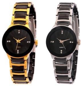 Shivam Retail SR-01 Stylish Metal SG Analog Watch  - For Girls