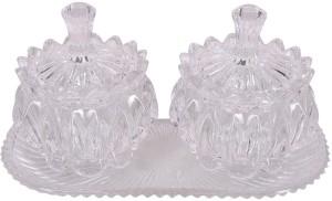 TRUENOW VENTURES Pvt. Ltd Vintage Glass Bowl Set