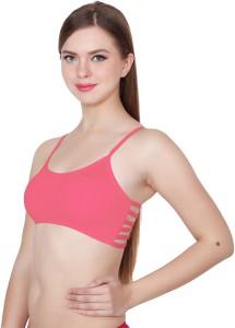 7e0dd6b574028d Apraa Girls Sports Bralette Balconette Pink Bra Best Price in India ...