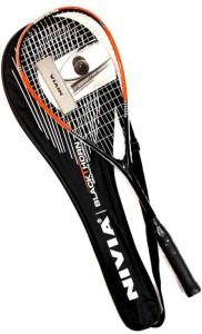 Nivia Black Thorn Squash Racquet G4 Strung