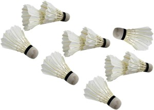 Xerobic High Quality Durable, Good Stability and Toughness Feather Shuttle  - White