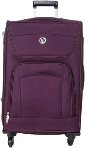 emblem SIGMA 20INCH PURPLE Expandable  Check-in Luggage - 20 inch