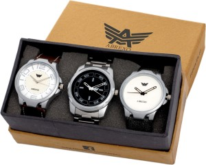 Abrexo Combo Of Three(Formal+Casual+Party Wear) Watches Analog Watch  - For Boys