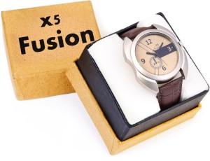 X5 Fusion YLOW_CRNO_BK_3_BOX Analog Watch  - For Men