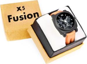 X5 Fusion BRN_STRP_BR_CS_BOX Analog Watch  - For Men