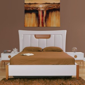 Evok Malta Engineered Wood King Bed With Storage