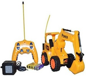 Firstep Remote Control Jcb Truck Yellow Best Price In India