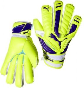 PUMA evoPOWER SUPER ( 10 ) Football Gloves (L, Multicolor)