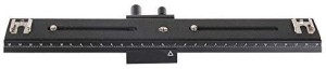 EXMAX 31cm 2 way Macro Shot Focusing Focus Rail Slider 1/4