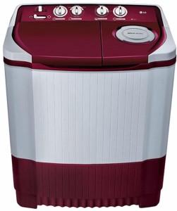 LG 6.5 kg Semi Automatic Top Load Washing Machine Maroon