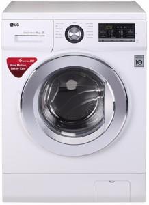 LG 8 kg Fully Automatic Front Load Washing Machine White