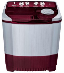 LG 7 kg Semi Automatic Top Load Washing Machine Maroon