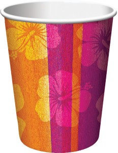 Funcart Aloha Summer 9oz Cups 311CUP