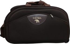 GOYMA Canvas & Polyester 24 Inches Duffel Strolley Bag
