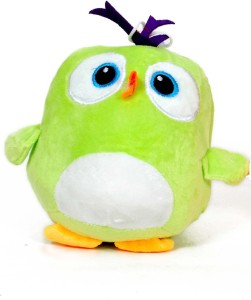 Skylofts Cute 22cm Lovely Stuffed Green Bird Soft Toy  - 22 cm
