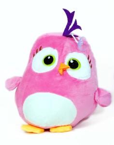 Skylofts Cute 22cm Lovely Stuffed Pink Bird Soft Toy  - 22 cm