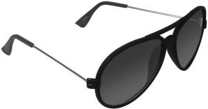 bebd004ba9 Criba Stylish UV400 Grey Shade Aviator Sunglasses ( Grey )