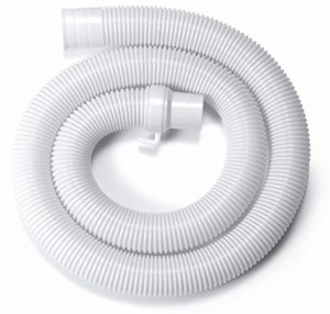 Domnicks Washing machine outlet Drain waste water flexible pipe 1.5 mtr. Hose Pipe