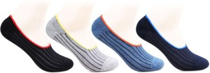 Bonjour Men's Self Design Footie Socks