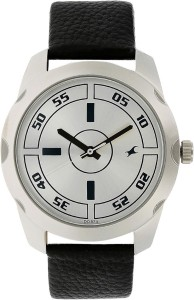Fastrack NF3123SL01C Bare Basic Analog Watch  - For Men