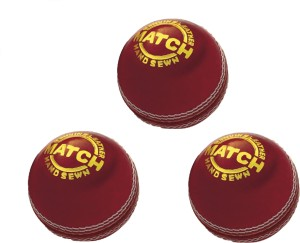 Emeret Vinex Match Ball 3 Piece Cricket Ball -   Size: Standard