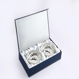 MeLANgE FB1027 Silver Plated Bowl Set