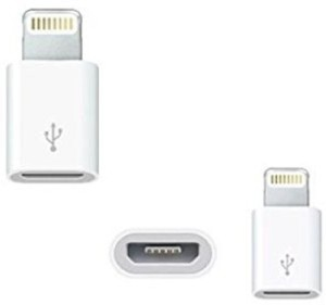 SHOPCRAZE Lightning 8 Pin to Micro USB Converter/Connector Worldwide Adaptor JHG564 Sync & Charge Cable