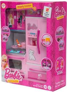 Akshit Barbie Pink Modern Kitchen Set For Girls Best Price In India