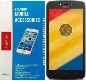 BigChoice Tempered Glass Guard for Moto C Plus