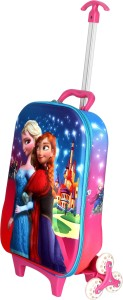 HSR Unique 3D Design Children's Trolley Bag Stylish Small Travel Bag