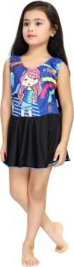 Rovars Printed Girls Swimsuit