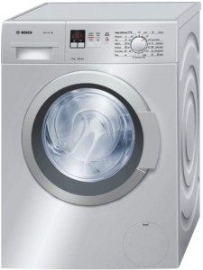 Bosch 7 kg Fully Automatic Front Load Washing Machine Silver