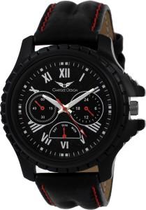 Gargee Design New 0052 GD Black Roman Eye Catching friendship gift in wrist watches Analog Watch  - For Boys