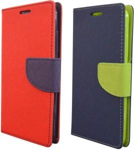 newest 4046e a088e COVERNEW Flip Cover for Sony Xperia M2 Dual D2302Multicolor