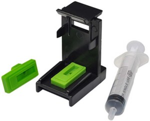 Gocolor Suction Tool Cleaning Kit For Black & Color HP Cartridge With Instruction Manual ,Demo Video Single Color Toner