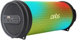 Artis Artis BT99 RGB Wireless Portable Dynamic LED Bluetooth Speaker With USB / FM / AUX IN / LED Lights Portable Bluetooth Mobile/Tablet Speaker